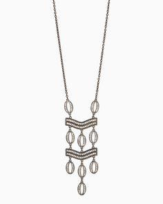 charming charlie   Sparkle Lineup Necklace   UPC: 400000042893 #charmingcharlie