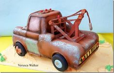Two Terrific Tow Mater Cakes