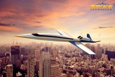 It's set to go on sale for £50 million in 2018.   World's First Private Supersonic Jet Has No Windows, Looks Amazing