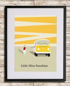 Little Miss Sunshine Poster A3 Print by sanasini on Etsy https://www.etsy.com/listing/97237911/little-miss-sunshine-poster-a3-print