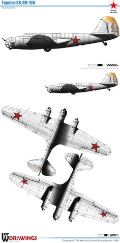 Tupolev SB 2 motor) first production model. Military Aircraft, Airplanes, Wwii, Wings, Russian Plane, Ww2 Planes, Planes, World War Ii, Aircraft