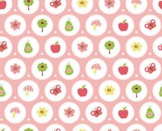 Muffin and Mani - Lazy Summer Doily wallpaper