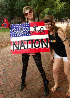 Kappa Alpha Theta army themed bid day - The College of William & Mary