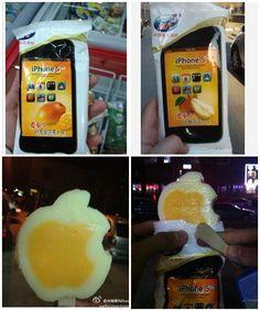 iPhone5 ice-cream. made in china~