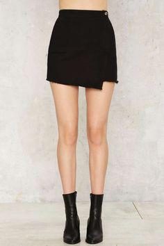 21d34133a0 Nasty Gal Slit or Miss Mini Skirt - Skirts | Skirts & Other Legwear ...