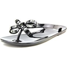 2d1a4787f 143 Girl Womens Olieah Jelly Flip Flop Sandals Black Size 60    To view  further