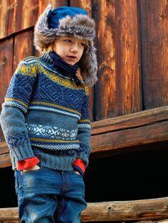 En avant l'hiver avec Benetton! / collection automne-hiver 2013