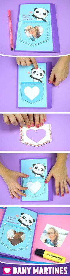 Faça você mesmo um lindo scrapbook, um album de fotos divertido, diferente, panda, Dany Martines, DIY, do it yourself