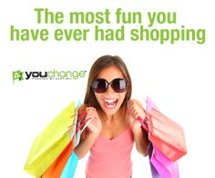 The most fun you have ever had shopping for #ecofriendly products.