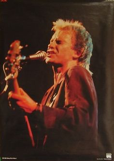 Sting / The Police : I still have this poster