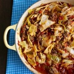 Unstuffed Cabbage Roll – All Recipes Easy Cabbage Rolls, Unstuffed Cabbage Rolls, Cabbage Rolls Recipe, Easy Rolls, Cabbage Recipes, Food Dishes, Main Dishes, Pasta Dishes, Beef Dishes