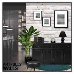 """Artfully Walls II"" by anna-nemesis ❤ liked on Polyvore"