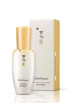 "Sulwhasoo First Care Activating Serum, a best-seller for the popular brand, is all about preventing signs of aging before they appear. It has the unique aim of ""opening up"" the skin to allow the following products to have maximum efficacy. It's like a pre-serum, if you will."