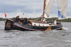 Sailing @ beulaker #giethoorn #sailing #wind #class