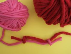 How to join two yarn balls