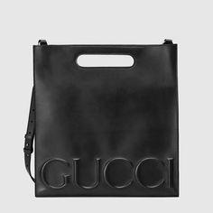 Gucci - Gucci XL leather tote
