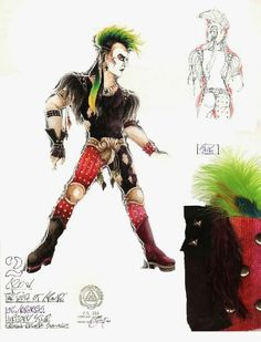 The Tooth of Crime (Crow). The Hartford Stage. Costume design by Eduardo Sicangco.