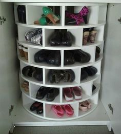 Rotateable Shoe Rack  #mjcdreamcloset    #matildajaneclothing