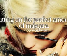 with my lashes