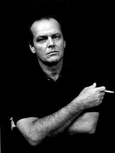 Jack Nicholson | photographer : Helmut Newton | portrait | cigarette | ram2013