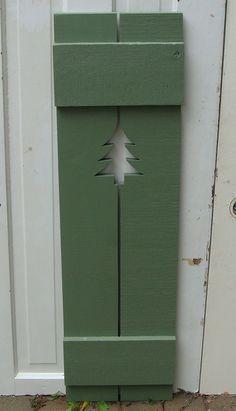 Cottage Style Exterior Shutters Decorative Exterior
