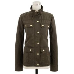 Michelle Obama J Crew the downtown field jacket