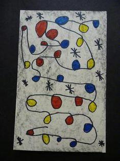 Miro Miro on the Wall. Monet, Kindergarten Projects, Artist Project, Teen Art, 3rd Grade Art, Ecole Art, Preschool Art, Art Classroom, Art Plastique