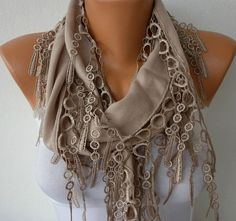Beige Scarf   by fatwoman, $13.50