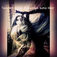 Bohemian hair styled by Twisted Sister Bohemian Ltd Bohemian Photography, Image Photography, Top Stylist, Toni And Guy, Bohemian Hairstyles, War Paint, Sisters, Dreadlocks, Stylists