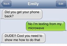 A sense of humor! Laugh, have fun and share with your friends. Maybe you will find friends with the help of humor. Very Funny Texts, Funny Texts Jokes, Text Jokes, Funny Text Fails, Cute Texts, Epic Texts, Really Funny Memes, Stupid Funny Memes, Funny Relatable Memes