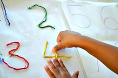 18+ Fine Motor Activities for Kids Using Yarn - Buggy and Buddy