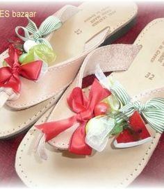 handmade greek sandals Greek Sandals, Palm Beach Sandals, Handmade, Hand Made, Craft, Handarbeit
