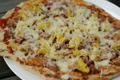 Grilled Hawaiin Pizza