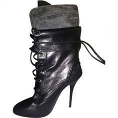 Giuseppe Zanotti Lace Up Boots