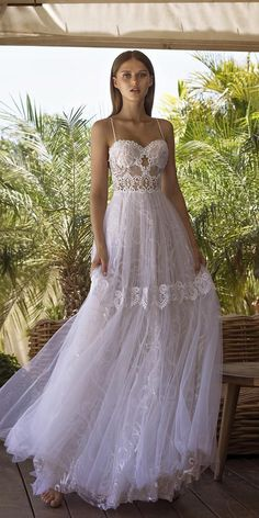 27 Bohemian Wedding Dress Ideas You Are Looking For ♥ Most brides dream about beautiful and original wedding dress. Bohemian wedding dress will be an ideal variant for you. Find your favorite and pin it! Western Wedding Dresses, Bohemian Wedding Dresses, Princess Wedding Dresses, Wedding Dress Styles, Bridal Dresses, Wedding Bride, Bride Groom, Wedding Gowns, Dream Wedding