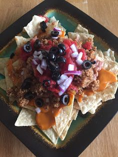 The Healthy Hoff: Hoff's Quinoa Nachos Health And Nutrition, Health And Wellness, Nachos, Quinoa, Waffles, Breakfast, Healthy, Ethnic Recipes, Blog