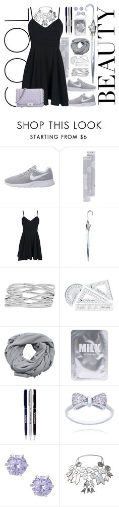 """""""First Sprinkle"""" by dizzier ❤ liked on Polyvore featuring NIKE, adidas, Fulton, M&Co, MANGO, Lapcos and Nina Ricci"""