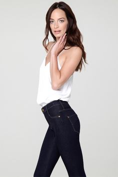 Introducing the James Twiggy Dancer, bringing you the next innovation in second-skin fit. A design marvel in its side-seamlessness, the Dancer was entirely engineered to curve and hug your body's every move, increasing ultra-flexibility and visually slimming from thigh to ankle. Available now on the website! www.jamesjeans.us - Click now to shop!