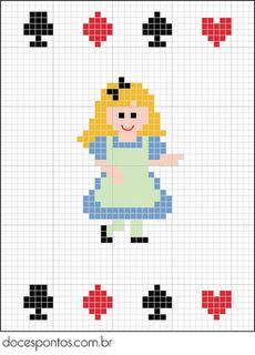 Doces Pontos: Alice no País das Maravilhas