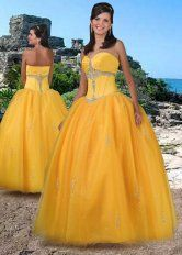 Orange Ball Gown Sweetheart and Strapless Zipper Floor Length Quinceanera Dresses With Beading