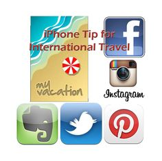 iPhone tip for international travel. How to enjoy your apps and not pay sky high fees when traveling out of your covered area.