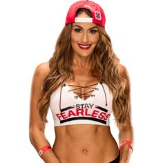 Nikki Bella ❤ liked on Polyvore featuring wwe