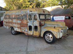 Old School Bus, School Buses, School Bus Driver, Abandoned Property, Abandoned Cars, U Haul Truck, Retro Bus, Short Bus, Warcraft Art