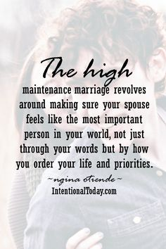It's not enough to say you value your husband, you have to show it in how you order your life. Here's why a great marriage is NOT a common marriage..