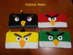 cartucheras de angry birds...