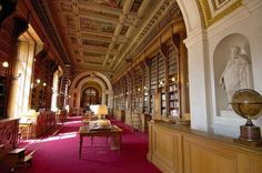 The French Senate Library in The Luxembourg Palace, Paris.