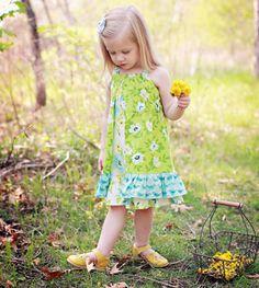 Mod Twirl Layered Dress