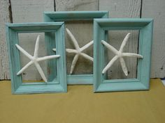 FLOATING FINGERLING STARFISH (by Sophie's Cottage on Etsy).
