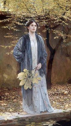 Ein stiller Winkel, 1909, Max Nonnenbruch (German, 1857-1922)