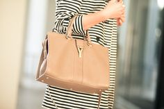neutral tone :: Cabas Tote by YSL